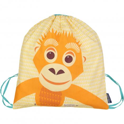 Sac d'activités enfant en coton BIO - Orang-outan