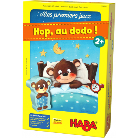 Mes premiers jeux - Hop, au dodo !