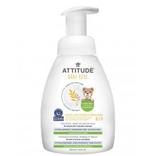 Mousse nettoyante 2 en 1 corps et cheveux - Bébé  - 250 ml