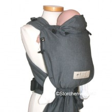 Porte bébé Baby Carrier - version SLIM - Graphite
