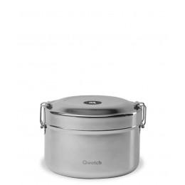 Boîte Bento isotherme en acier inoxydable - 850 ml