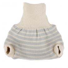Culotte en laine - lignes grises