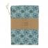 Sac à pain - 35 x 50 cm - Ombrelles - bleu canard