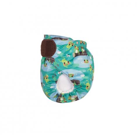 Couche lavable TE1 TeenyFit  V4 - nouveau-né - motif Frogs