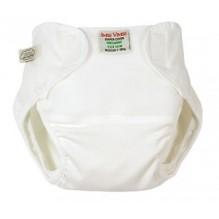 Culotte en coton bio - blanc *