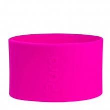 Manchon court en silicone pour biberon 150 ml en inox Pura - Pink