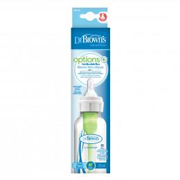 Biberon Options+ anti-coliques - col étroit - 250 ml
