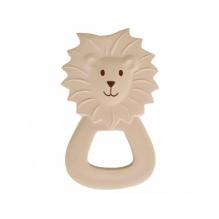 Hochet anneau de dentition en caoutchouc naturel First safari - Lion - dès la naissance