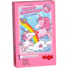 Licornes dans les nuages Bingo scintillant - à partir de 3 ans