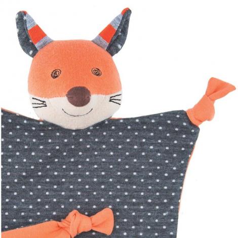 Doudou Frenchy fox Coton Bio - Renard - dès la naissance