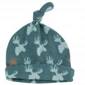 Bonnet en coton BIO - Elan Teal