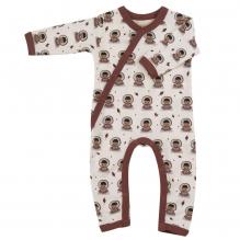 Pyjama - Combi en coton BIO avec pieds - Eskimo Spice