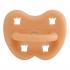 Tétine orthodontique en caoutchouc - Couronnes - Cantaloupe