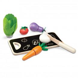 Les legumes en cinq couleurs - à partir de 3 ans