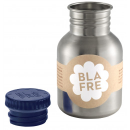 Gourde acier inoxydable - bleu marine - 300ml