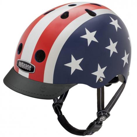 Casque vélo - Street - Stars & Stripes - S