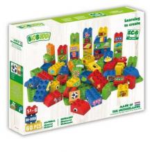 Blocs de construction thème jouets - 40 blocs - à partir de 18 mois