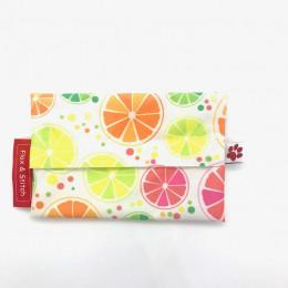 Pochette à snack - Vibrant Citrus
