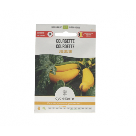 Courgette Goldrush - 2,0 g