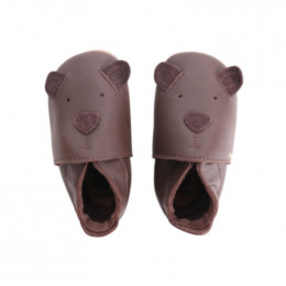 Chaussons G08130 - Ours Chocolate Cub