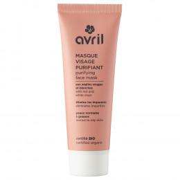 Masque visage purifiant - peaux normales à grasses - 50 ml