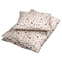 Housse de couette Junior - 70 x 100 cms - Forest floor rose