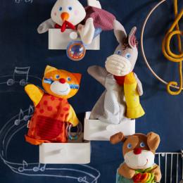 Marionnette sonore Ane musicien HABA