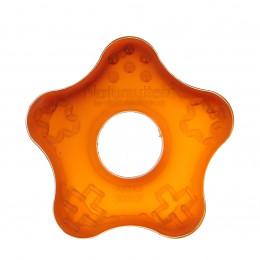 Anneau de dentition en caoutchouc naturel - Starfish