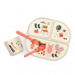Set repas enfant - Coral