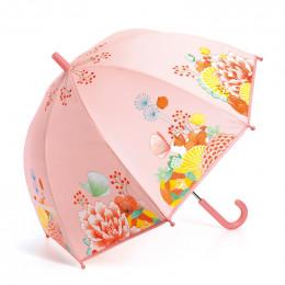 Parapluie - Jardin fleuri
