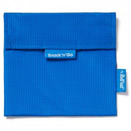 Pochette lavable et réutilisable Snack'n'Go - Active Blue