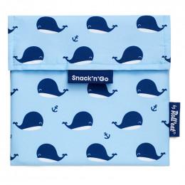 Pochette lavable et réutilisable Snack'n'Go - Kid Baleines