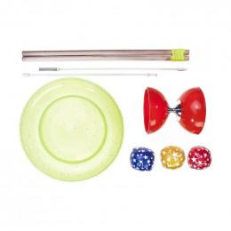 Set de jonglerie junior - à partir de 5 ans