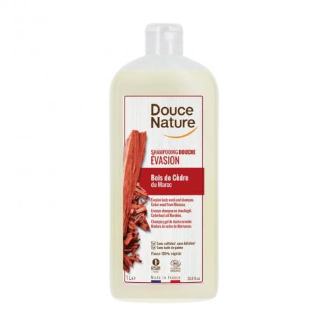 Shampooing-douche Relaxant - Bois de Cèdre - 1 litre