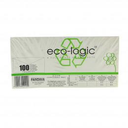 Enveloppes Eco-Logic avec fenêtre 114 x 229 mm