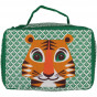 Valisette / vanity case en coton BIO - Tigre