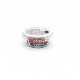 Plat rond en verre avec couvercle - 950 ml