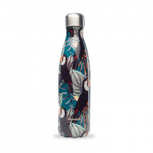 Bouteille nomade isotherme - 500 ml - Tropical toucan