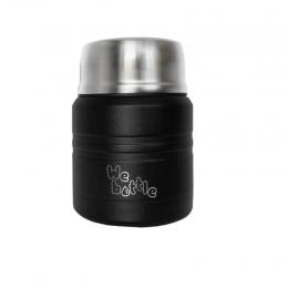 Lunchbox Isotherme en Inox - Noir - 350 ml