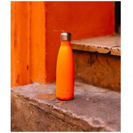 Bouteille nomade isotherme - 500 ml - Pop orange