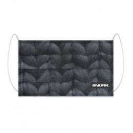 Masque buccal en coton bio - Twirre Steal Grey