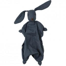 Doudou Tino tétra - bleu marine - dès la naissance