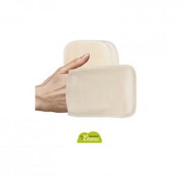Recharge de 5 gants de change - Coton Bio Biface