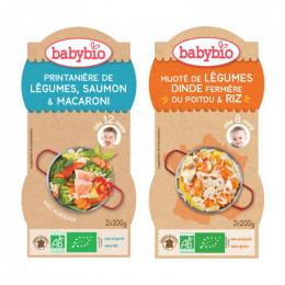 Pack duo Babybio - à partir de 8 mois