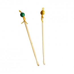 Duo d'oriculis en bambou