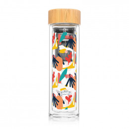 Bouteille infuseur nomade - Abstrait