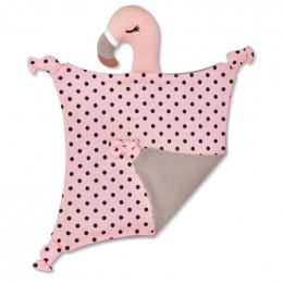 Doudou en Coton Bio - Flamingo - dès la naissance