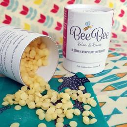 Cire d'abeille pour emballage alimentaire - 40 g