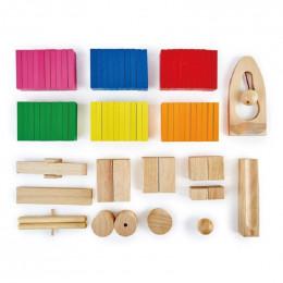 Dominos en bois - 78 pièces - à partir de 3 ans