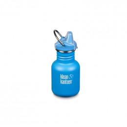 Gourde bouteille en inox - 355 ml - Bouchon bec de transition - Blue mat